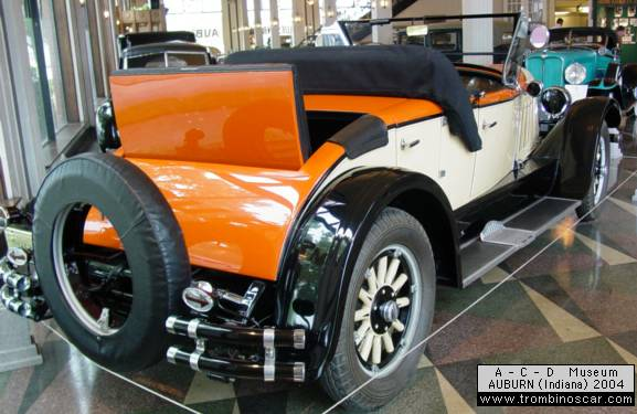 1926 auburn model 8