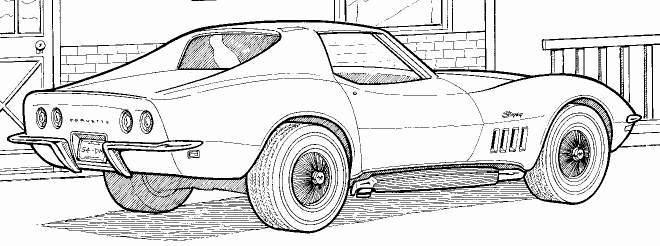 1969 chevrolet corvette stingraysport coupe