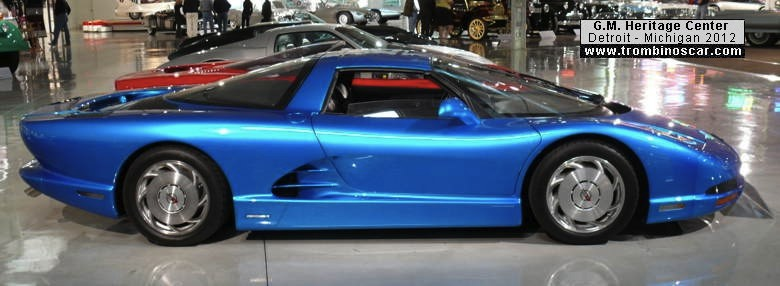 1990 Corvette Serv III Experimental Ct900805