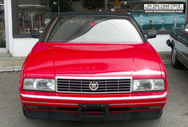 Cd on 1987 Cadillac Allante Motor