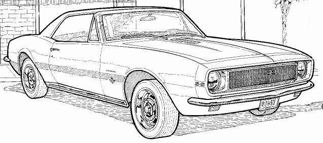 Camaro 2012 Coloring Page http://www.printablecolouringpages.co.uk/?s=1969%20camaro