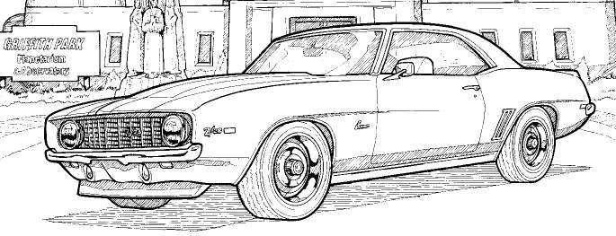 1969 chevrolet camaro z