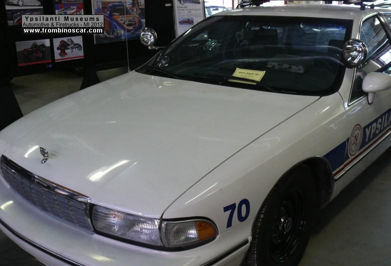 1992 chevrolet caprice police sedan