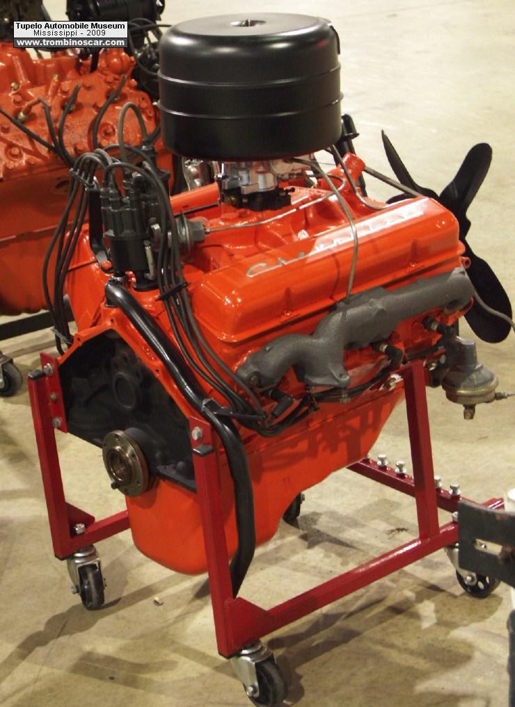 1955 chevrolet moteur v8