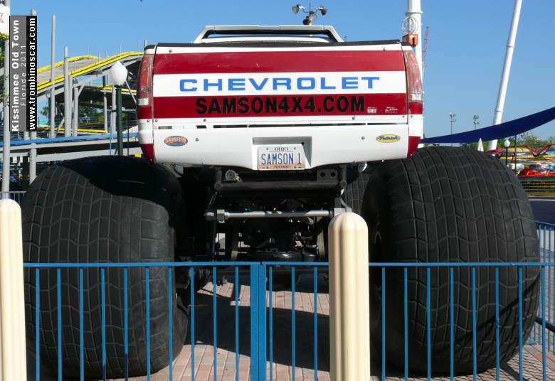 2006 chevrolet silverado big foot