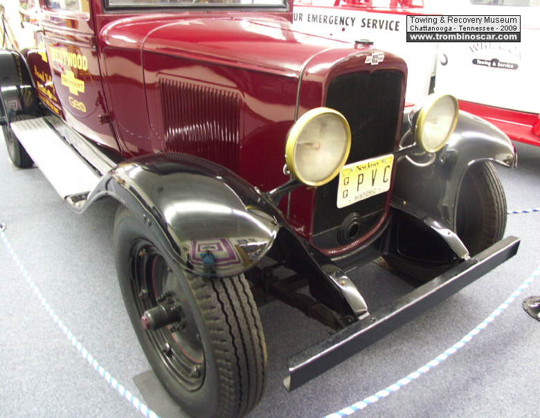 1929 chevrolet ac towing truck