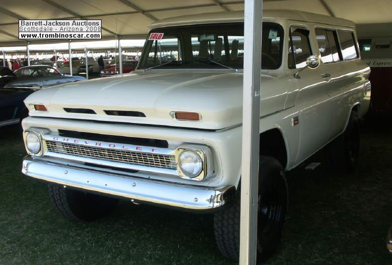 1966 chevrolet 4x4 suburban k