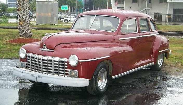 1947 dodge custom sedan 4dr for 1947 dodge 2 door sedan