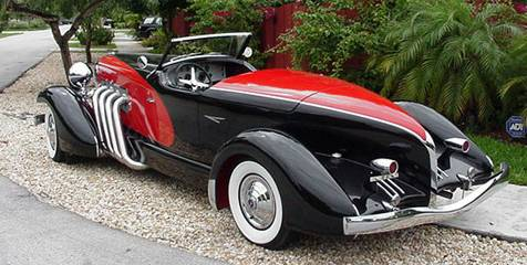 1979 Duesenberg Sj Speedster 1933 Replica