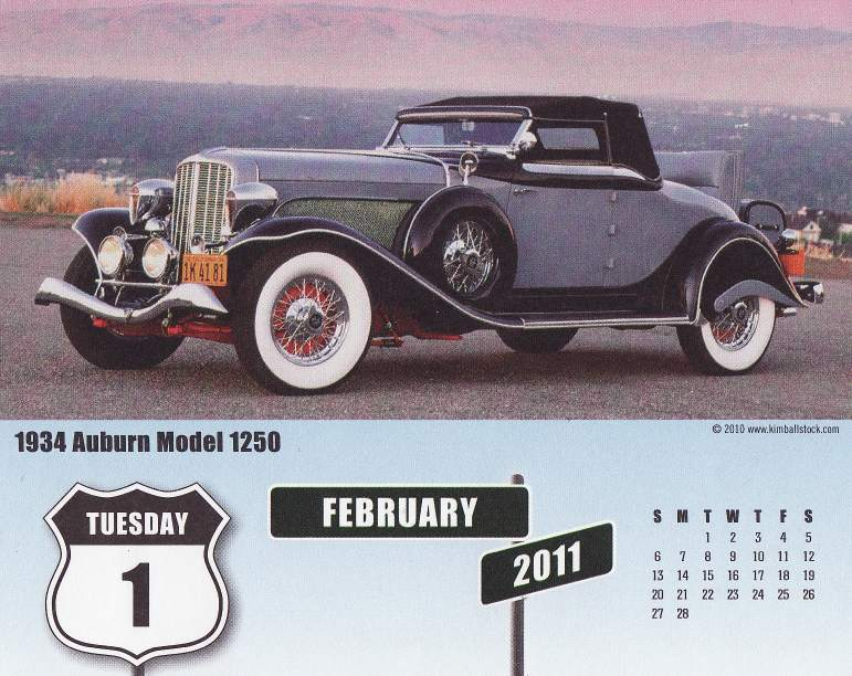 Eph m ride 2012 et 2011 page 2 for 1934 auburn 1250 salon cabriolet