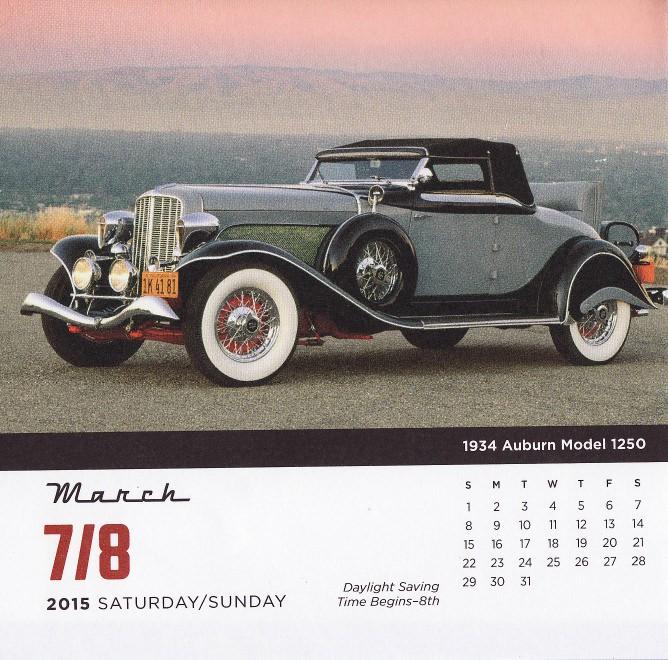 Ephemeride des marques ind pendantes 2015 page 2 for 1934 auburn 1250 salon cabriolet