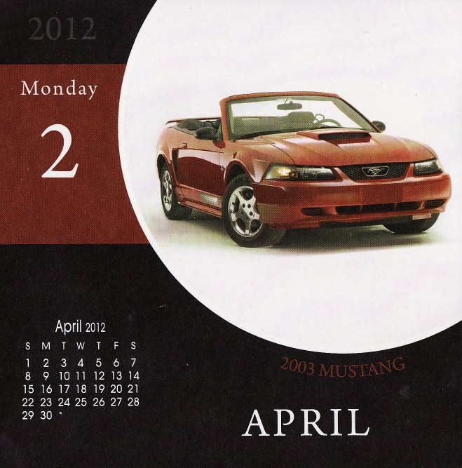 Chrysler 200 Convertible Hardtop: Ephéméride 2012 (et 2011)