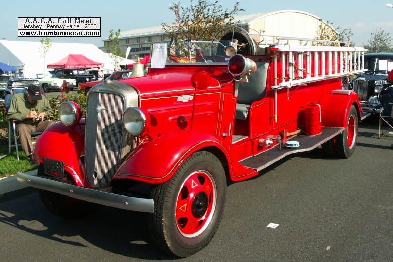 1936 chevrolet pumper firetruck