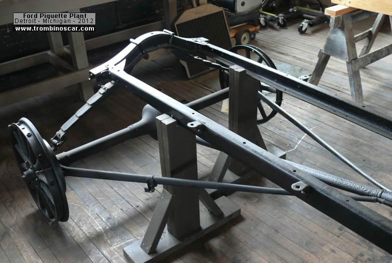 Ford Model T Chassis : Ford model t chassis body