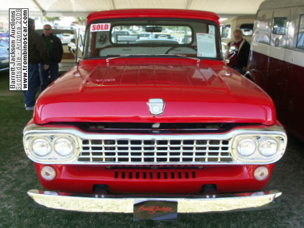 1958 Ford F 100 Pickup Styleside