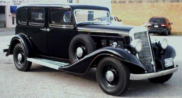 1934 Franklin Airman Sedan