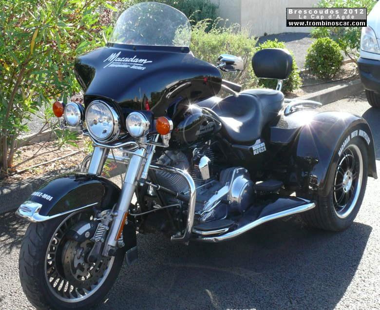 Harley Davidson  Aout  Herault