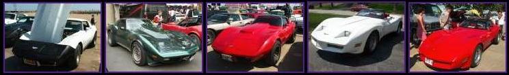 5 Corvette C3 (sur une total de 52) 343