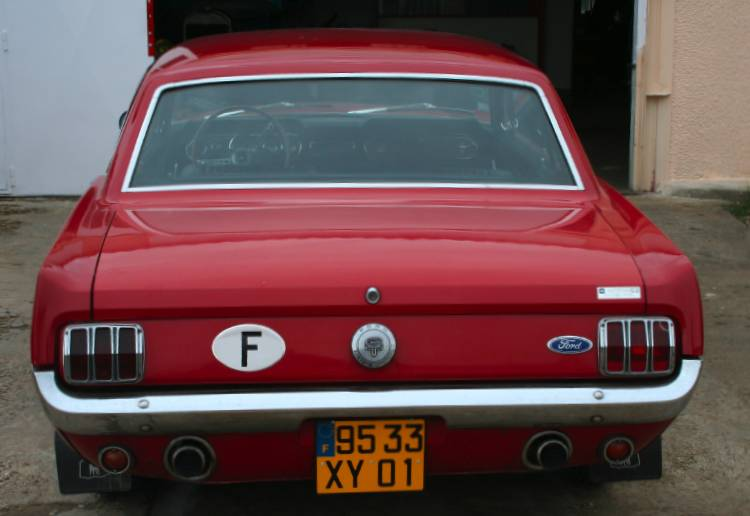 Excellent 1966 Ford Mustang GT Coupe Hardtop VN27