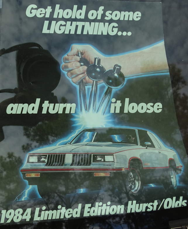 Olds Hurst 1983 Om840200f