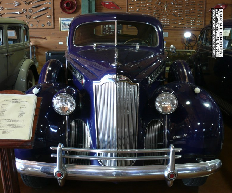 1940 Packard 1-60 Touring Sedan