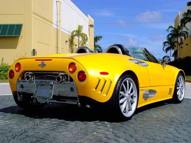 2006 Spyker C6 Spyder Convertible