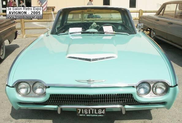 1961 ford thunderbird hardtop coupe. Black Bedroom Furniture Sets. Home Design Ideas